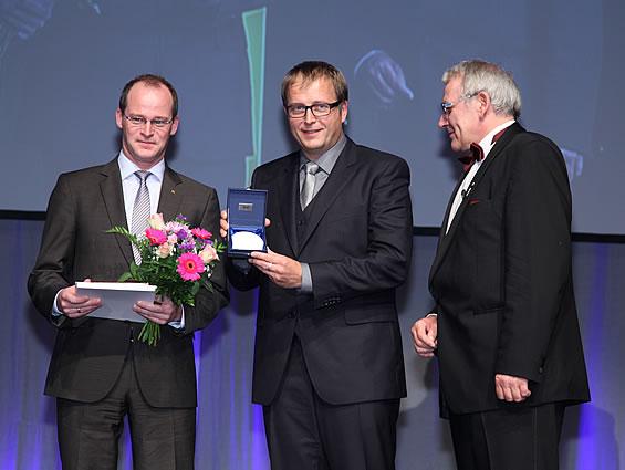 Dr. Mathias Schäfer und Klaus Cronau, Geschäftsführer FingerHaus GmbH - Foto: Boris Löffert