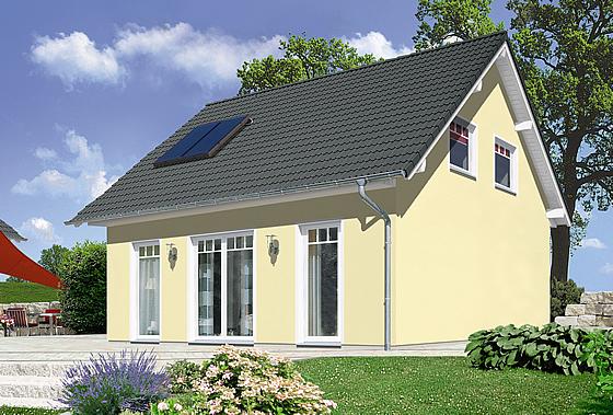 Massivhäuser von Town & Country verbinden hohen Wärmeschutz und Wohnkomfort, hier das Haus Aspekt 110 - Foto: Town & Country Haus, Behringen