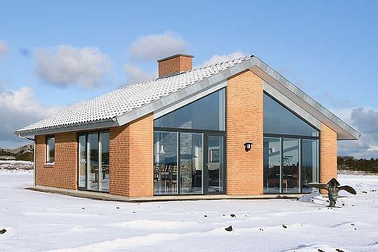 In der Heizsaison kommt es auf eine wirksame Wärmedämmung und eine effiziente Heiztechnik an. Foto: Danhaus