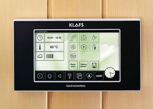 Saunasteuerung - Alles im Blick bei der Sauna - Foto: KLAFS