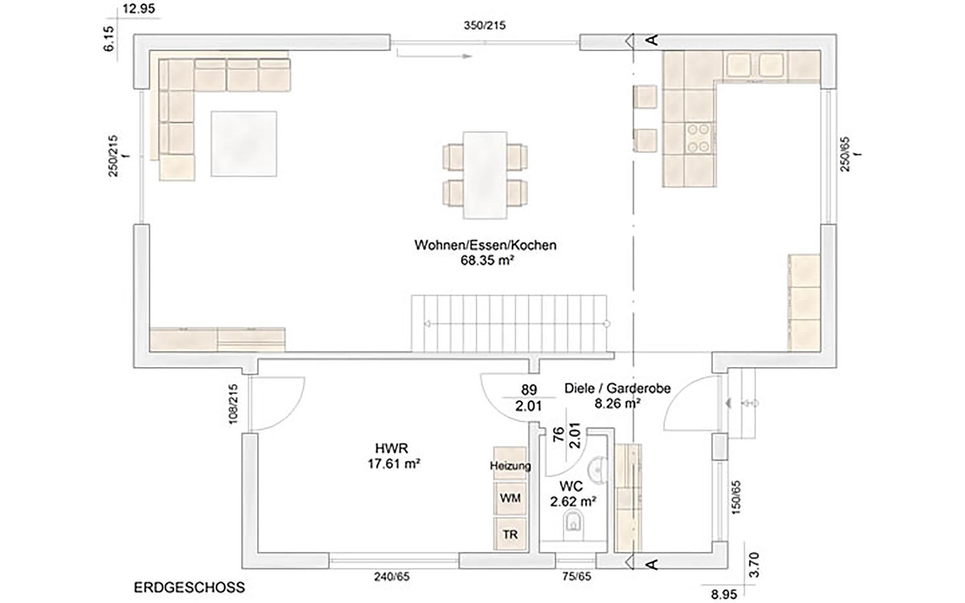 Erdgeschoss Garitz von Albert-Haus GmbH & Co. KG