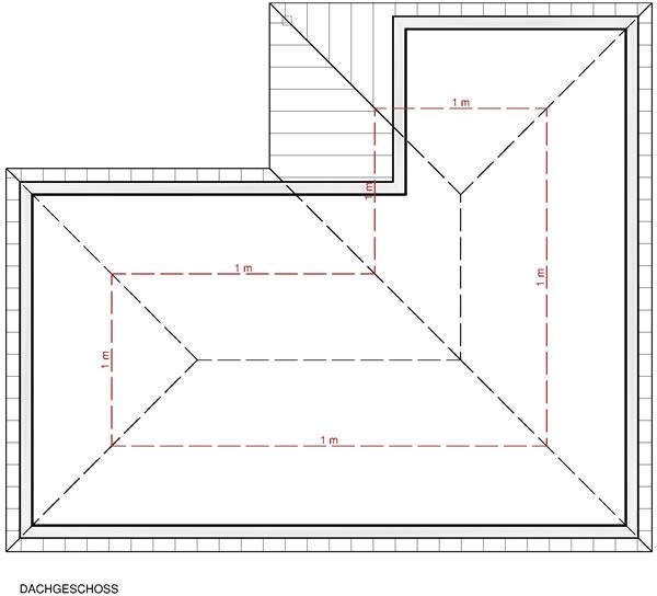 Dachgeschoss Leah 128 von Albert-Haus GmbH & Co. KG