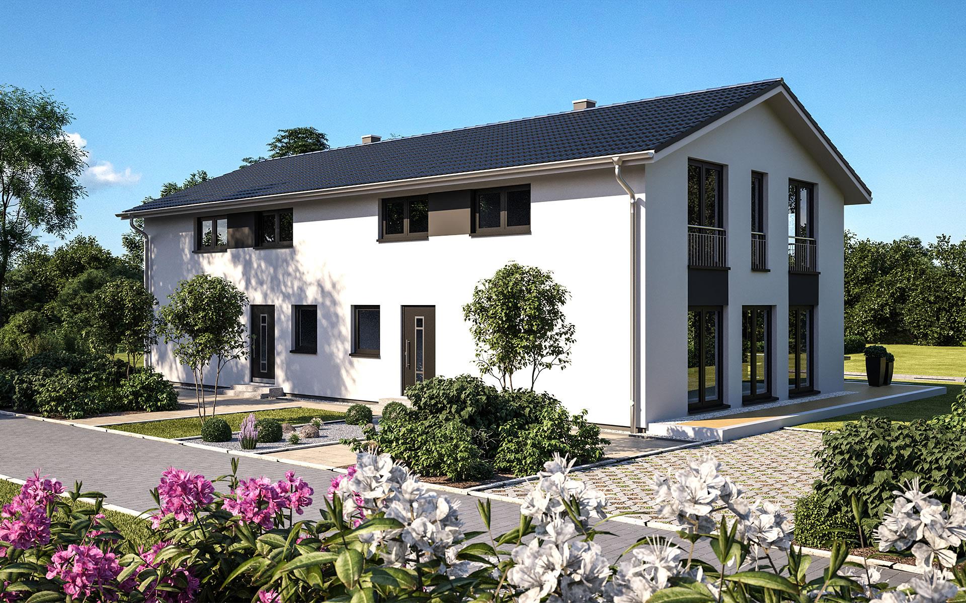 Duo 141 - Bärenhaus - das fertige Haus GmbH