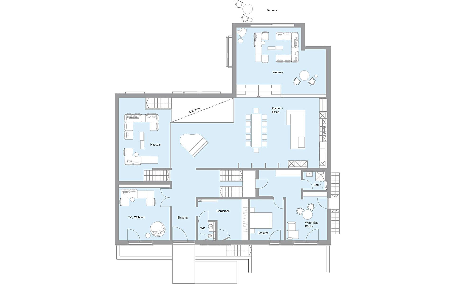 Erdgeschoss Woloszczuk von Bau-Fritz GmbH & Co. KG, seit 1896