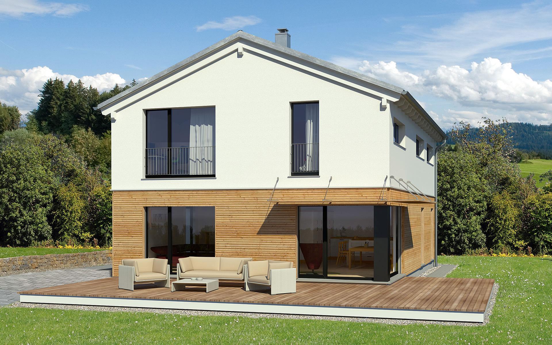 Hoch Hinaus 170m² von Bau-Fritz GmbH & Co. KG, seit 1896