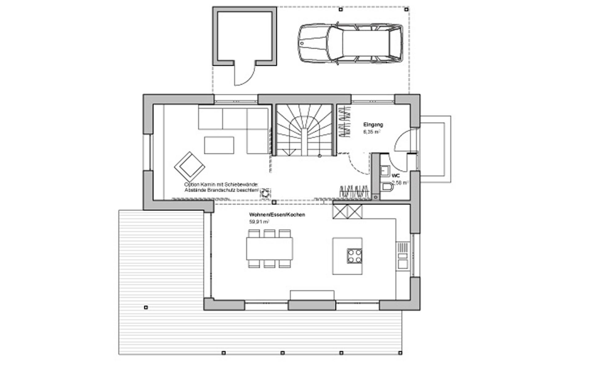 Erdgeschoss Edition Rot von Bau-Fritz GmbH & Co. KG, seit 1896