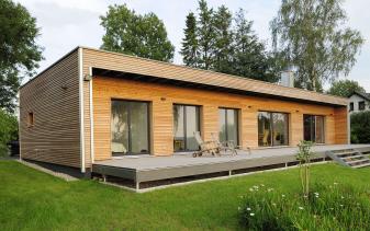 Baufritz - Musterhaus Moderner Bungalow
