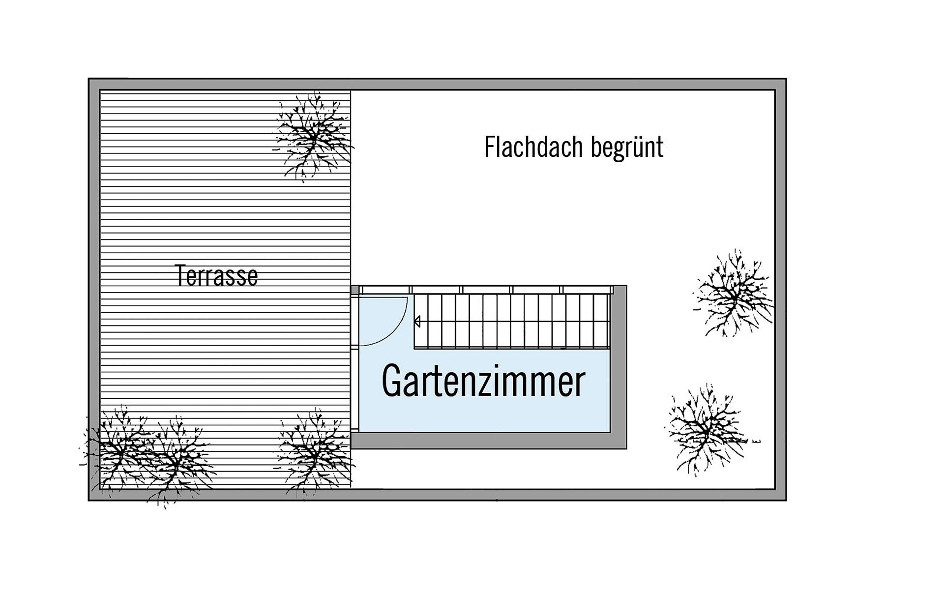 Dachgeschoss Wiesenhütter von Bau-Fritz GmbH & Co. KG, seit 1896