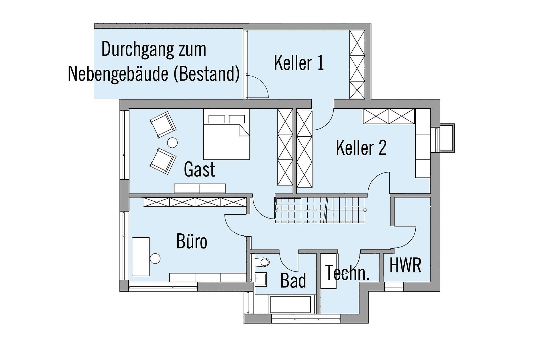 Keller Wiesenhütter von Bau-Fritz GmbH & Co. KG, seit 1896