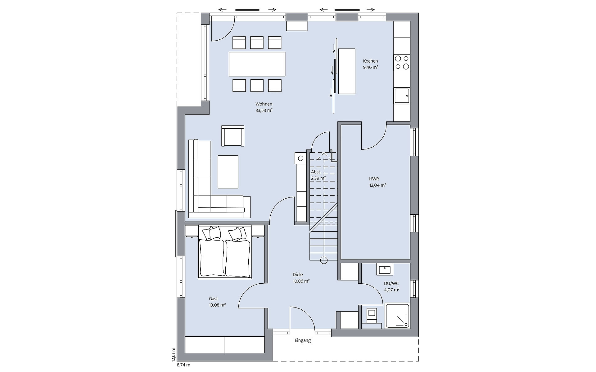 Erdgeschoss Otten von BAUMEISTER-HAUS Kooperation e.V.