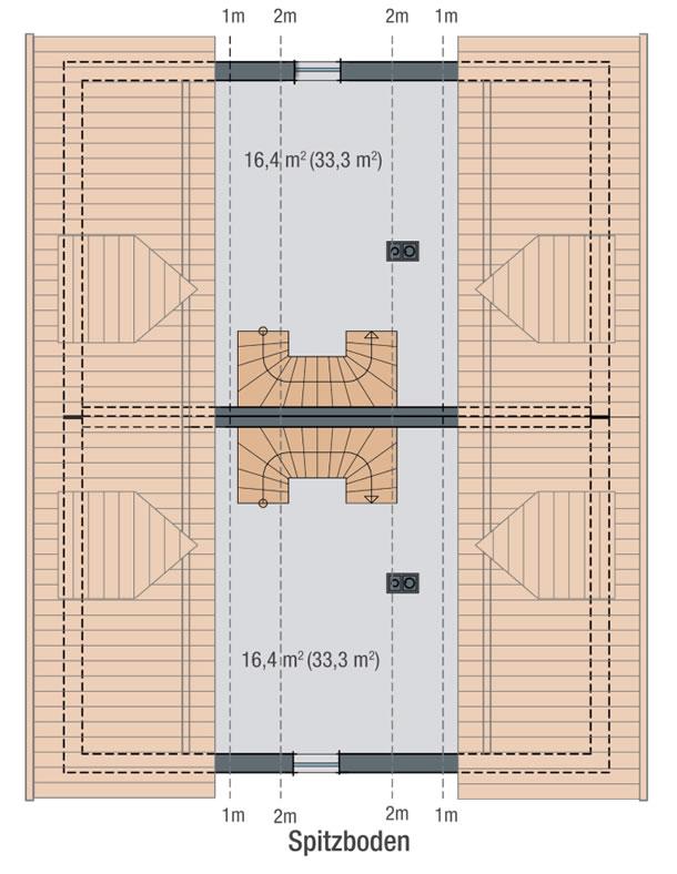 Dachgeschoss LILIE von BAVARIA Wohn- und Zweckbau GmbH