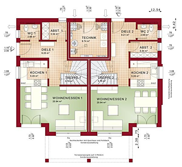 Erdgeschoss Celebration 192 V5 von Bien-Zenker GmbH