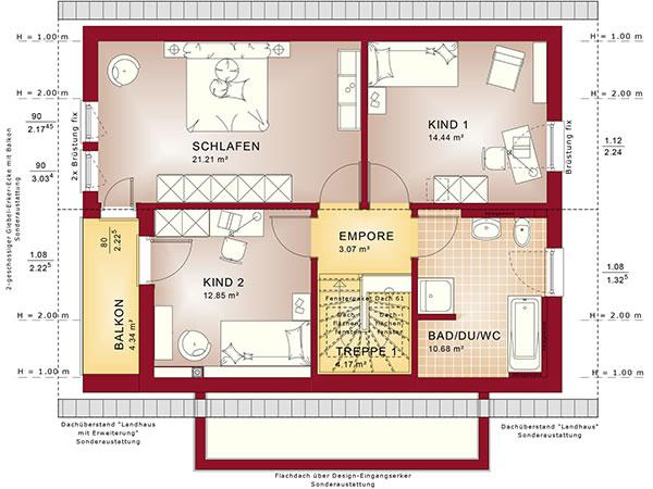 Dachgeschoss Edition 1 V6 von Bien-Zenker GmbH