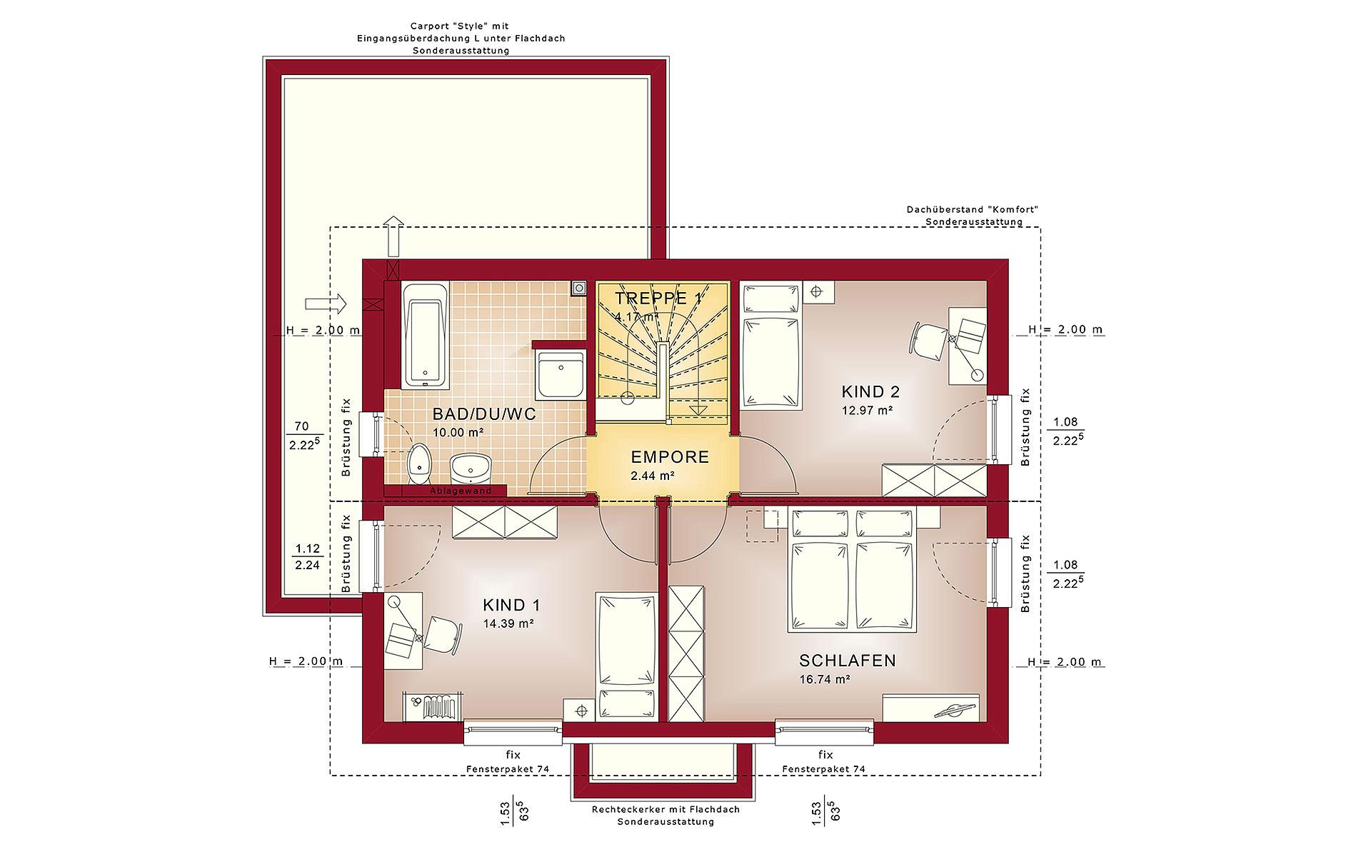 Dachgeschoss EDITION 2 V2 von Bien-Zenker GmbH