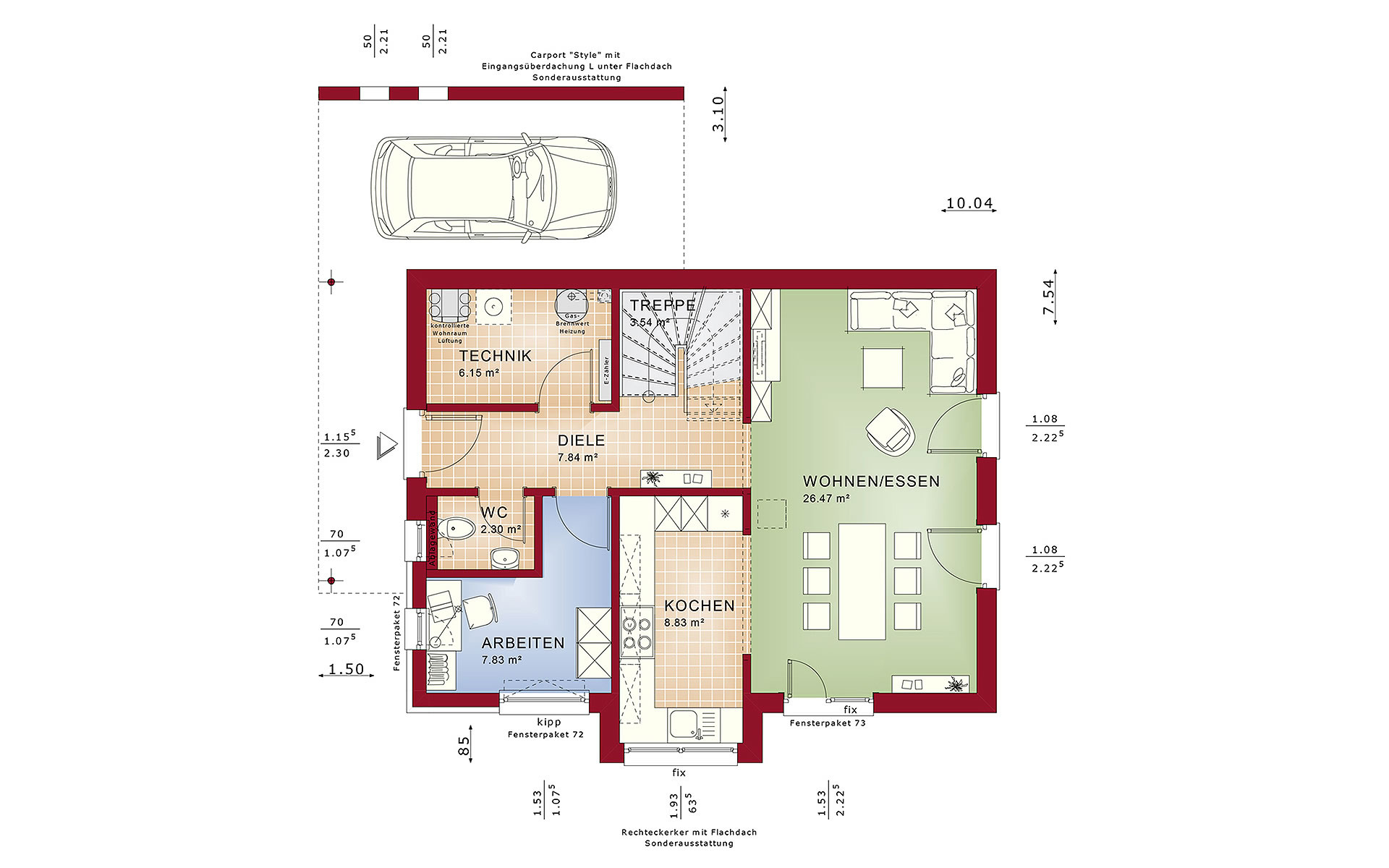 Erdgeschoss EDITION 2 V2 von Bien-Zenker GmbH