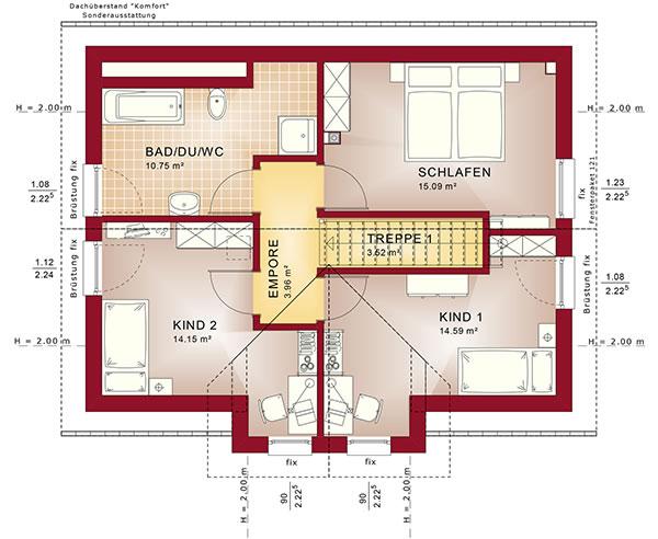 Dachgeschoss Edition 4 V5 von Bien-Zenker GmbH