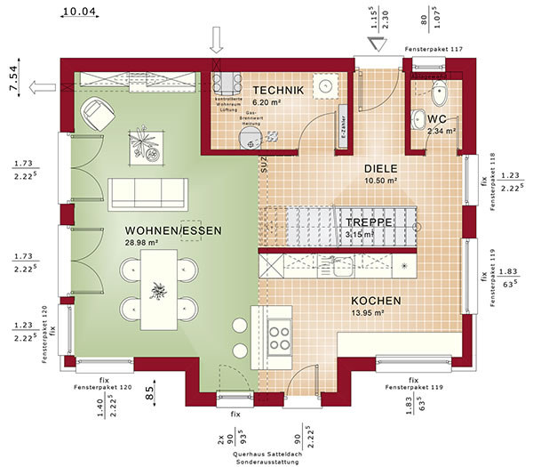 Erdgeschoss Edition 4 V5 von Bien-Zenker GmbH