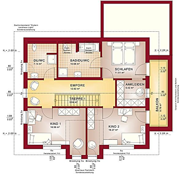 Dachgeschoss Fantastic 162 V5 von Bien-Zenker GmbH