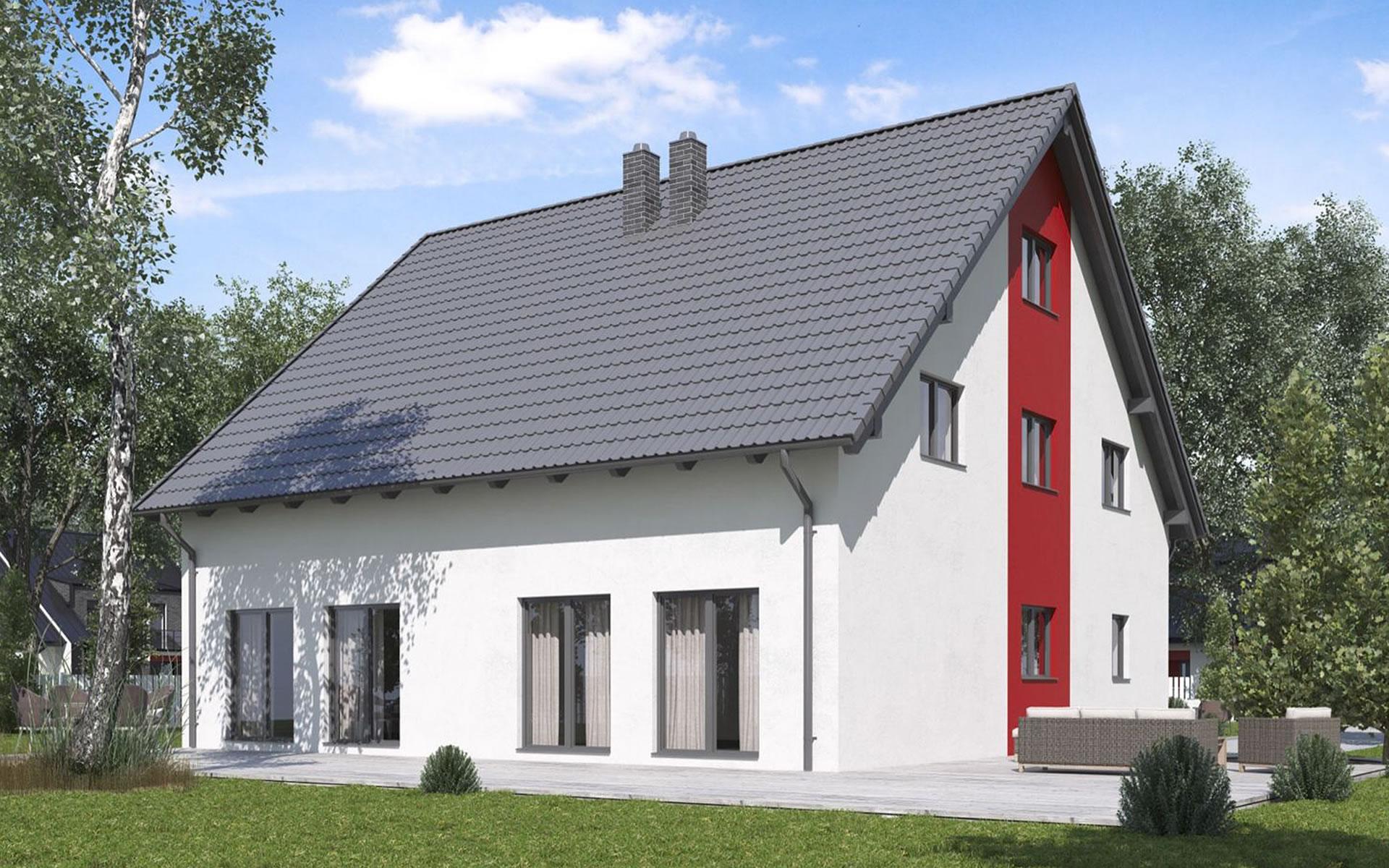 Doppelhaushälfte BS 103 von B&S Selbstbausysteme GmbH & Co. KG