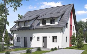 B&S Selbstbau - Musterhaus Doppelhaushälfte BS 103