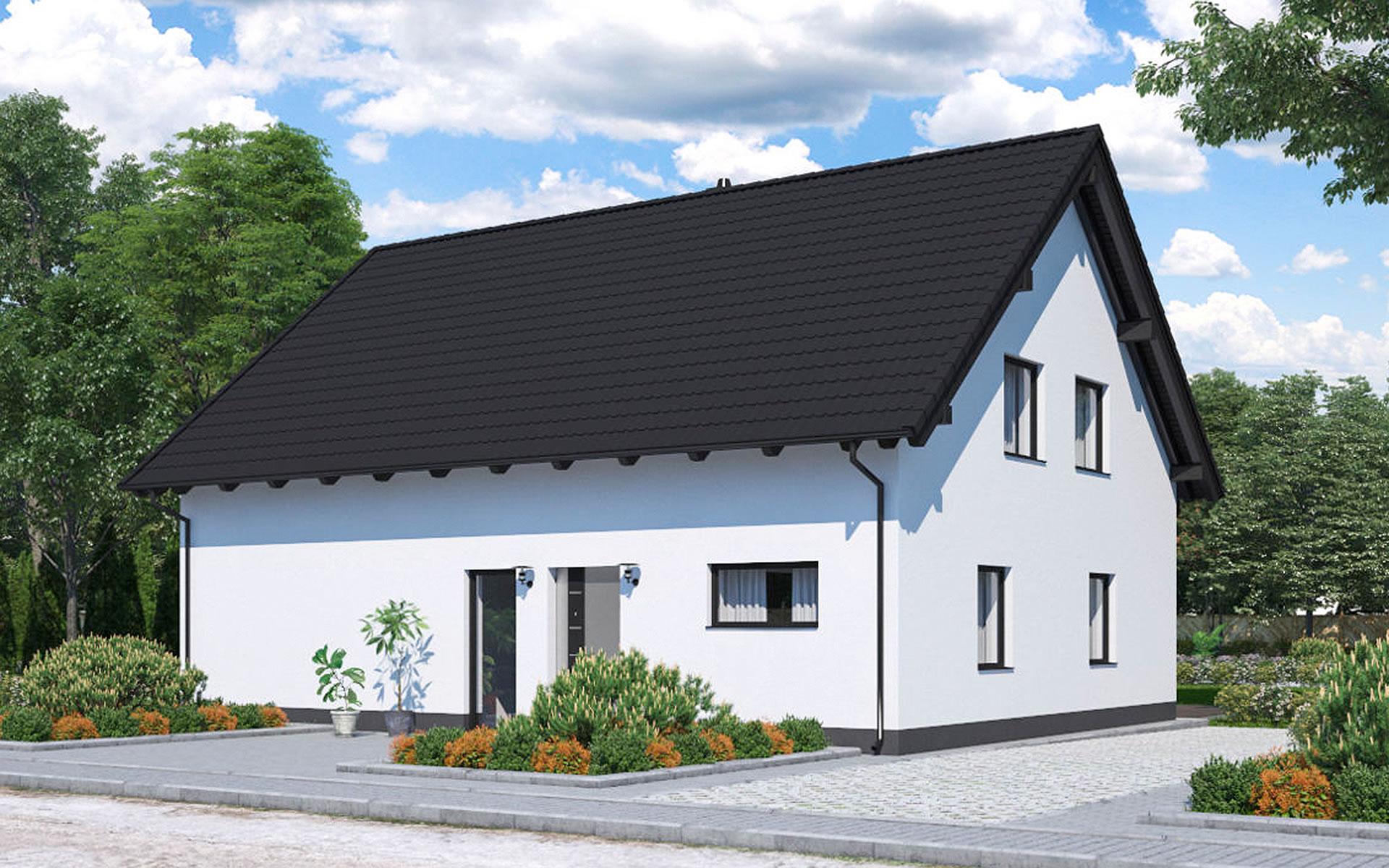 Zweifamilienhaus BS 140 - B&S Selbstbausysteme GmbH & Co. KG