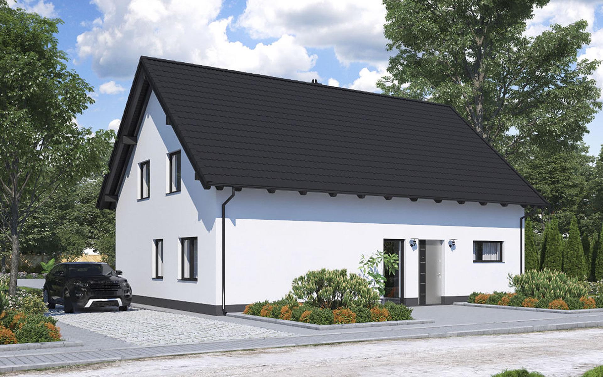 Zweifamilienhaus BS 140 von B&S Selbstbausysteme GmbH & Co. KG