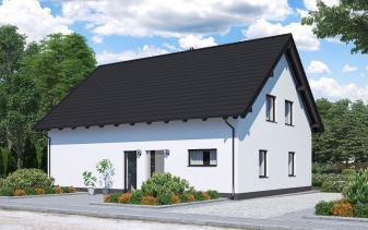 B&S Selbstbau - Musterhaus Zweifamilienhaus BS 140