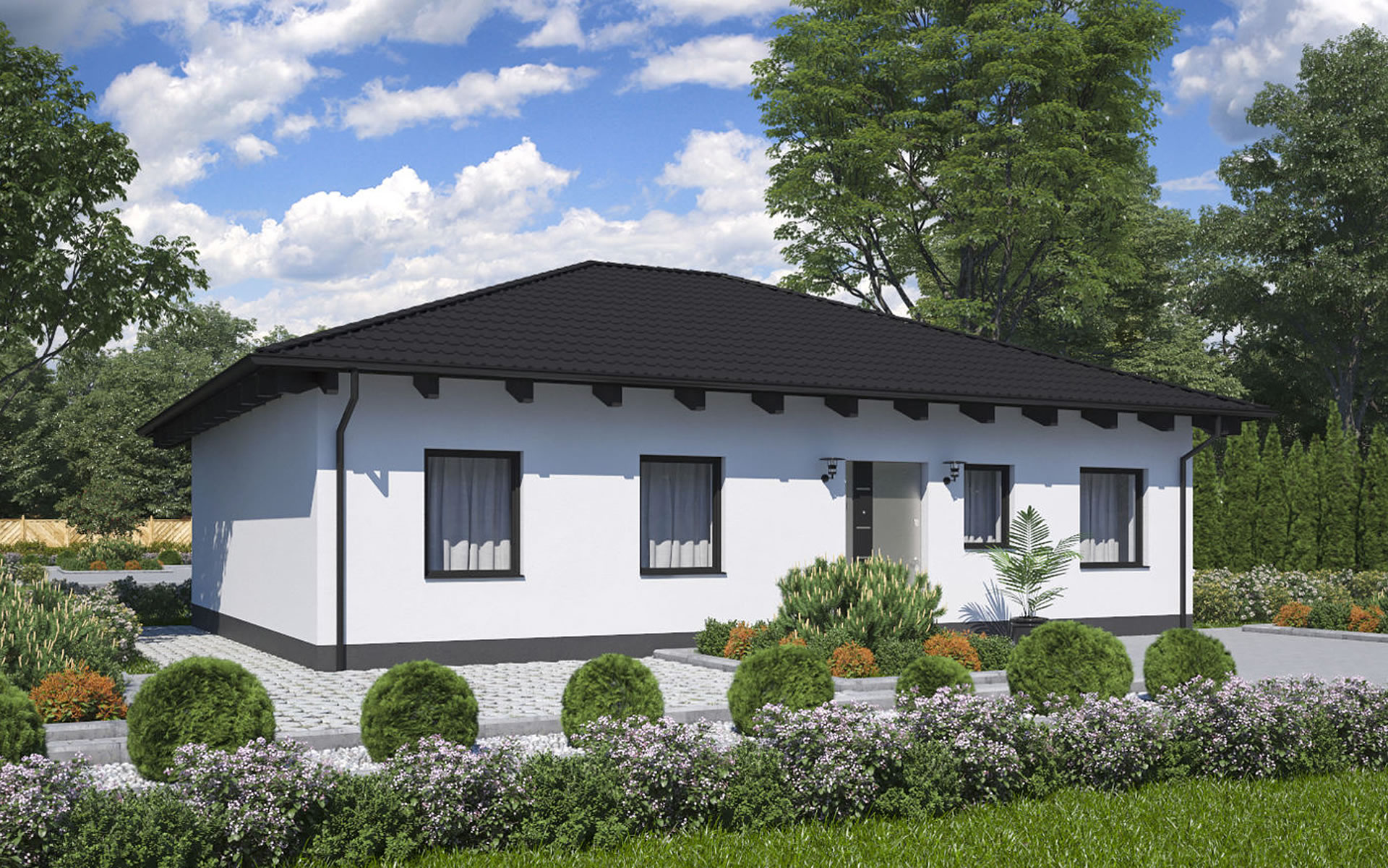 Bungalow BS 80 - B&S Selbstbausysteme GmbH & Co. KG