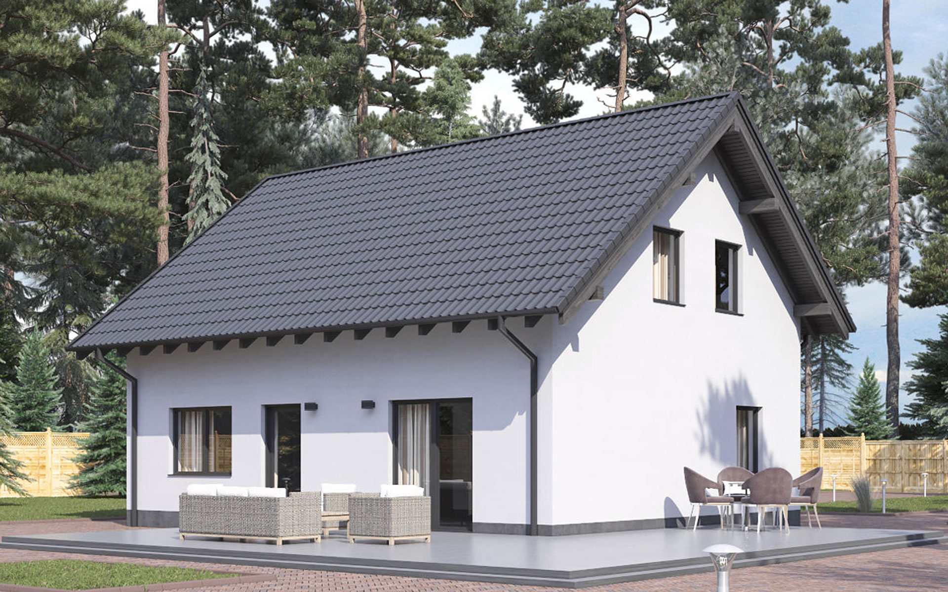 Einfamilienhaus BS 107 von B&S Selbstbausysteme GmbH & Co. KG