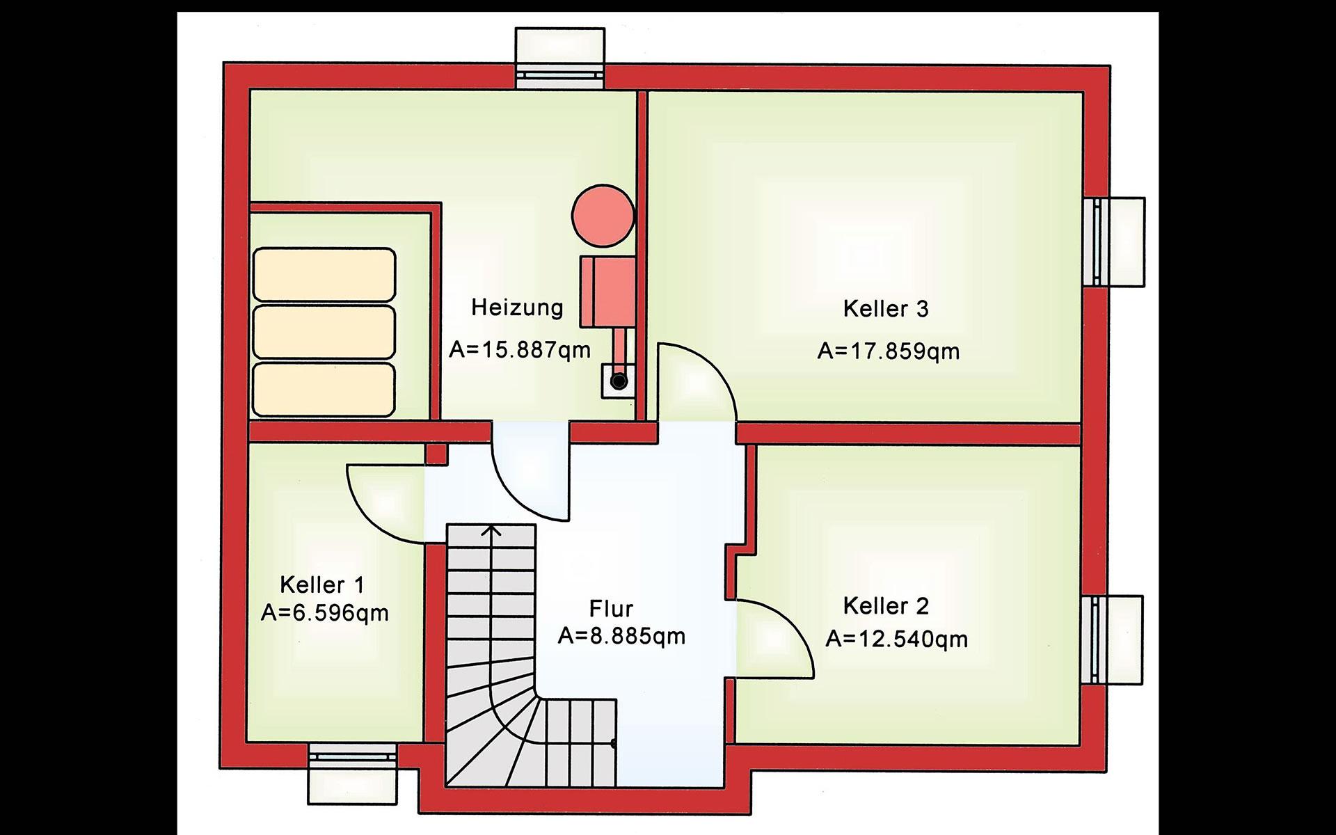 Keller Future BS 118 von B&S Selbstbausysteme GmbH & Co. KG