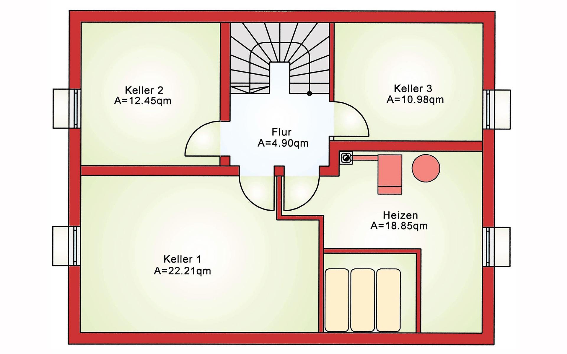Keller Komfort BS 125 von B&S Selbstbausysteme GmbH & Co. KG