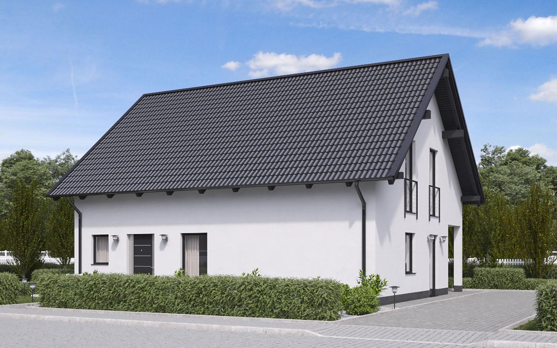 Einfamilienhaus BS 129 von B&S Selbstbausysteme GmbH & Co. KG