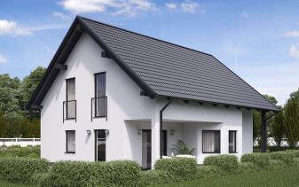 B&S Selbstbau - Musterhaus Komfort BS 129
