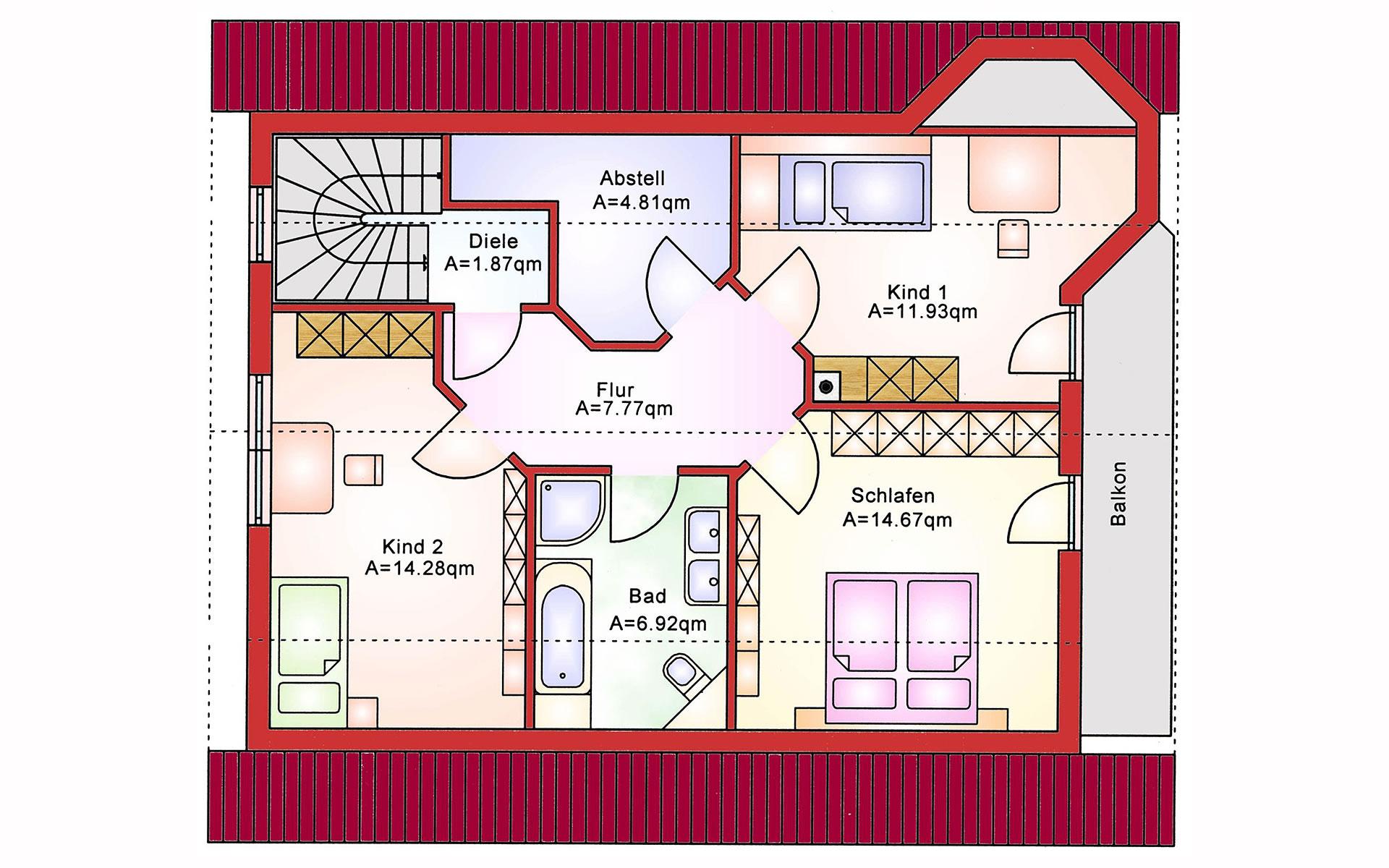 Einfamilienhaus BS 134 von B&S Selbstbausysteme GmbH & Co. KG