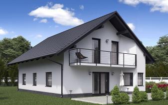 B&S Selbstbau - Musterhaus Komfort BS 134