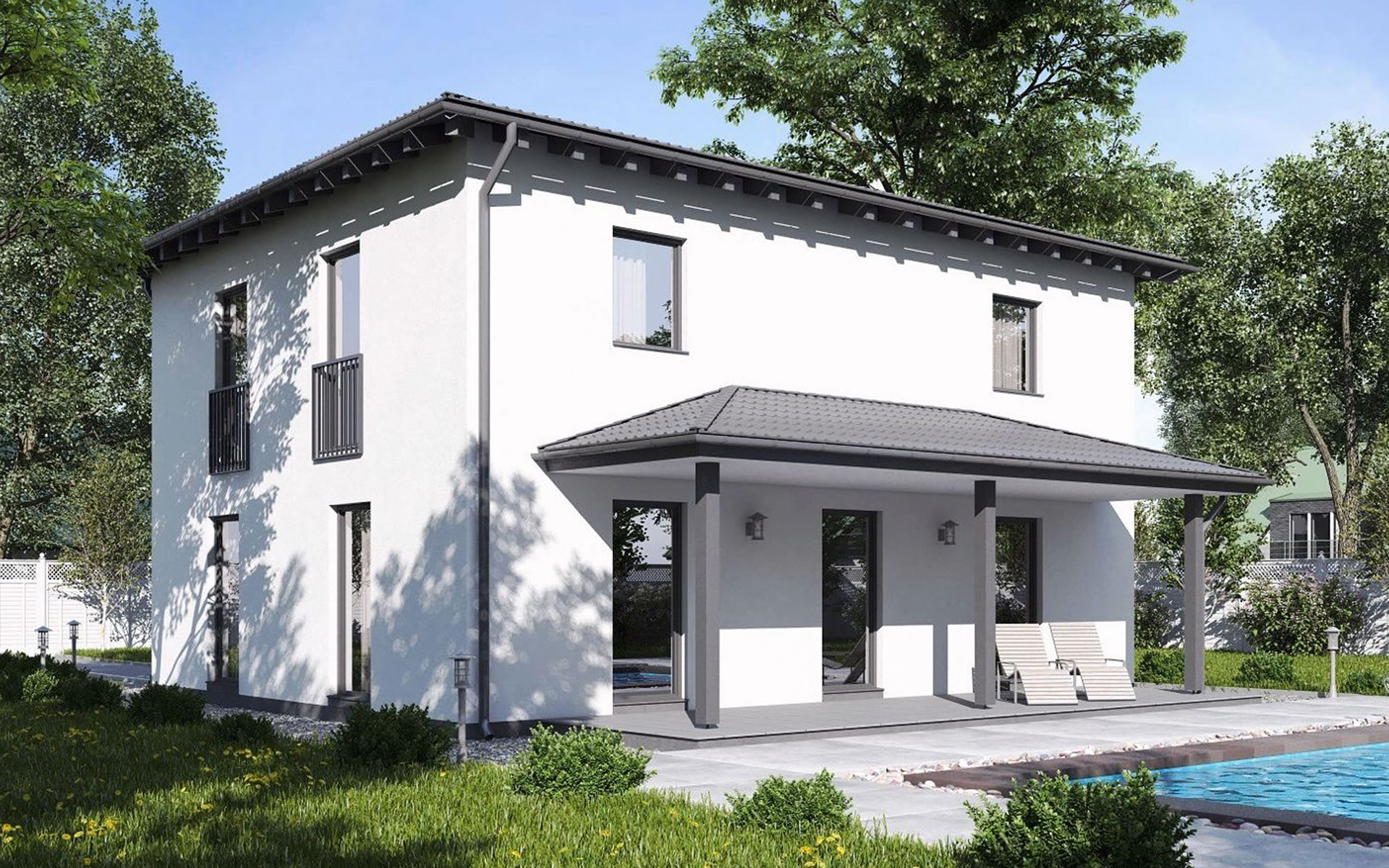 Einfamilienhaus BS 138 - B&S Selbstbausysteme GmbH & Co. KG