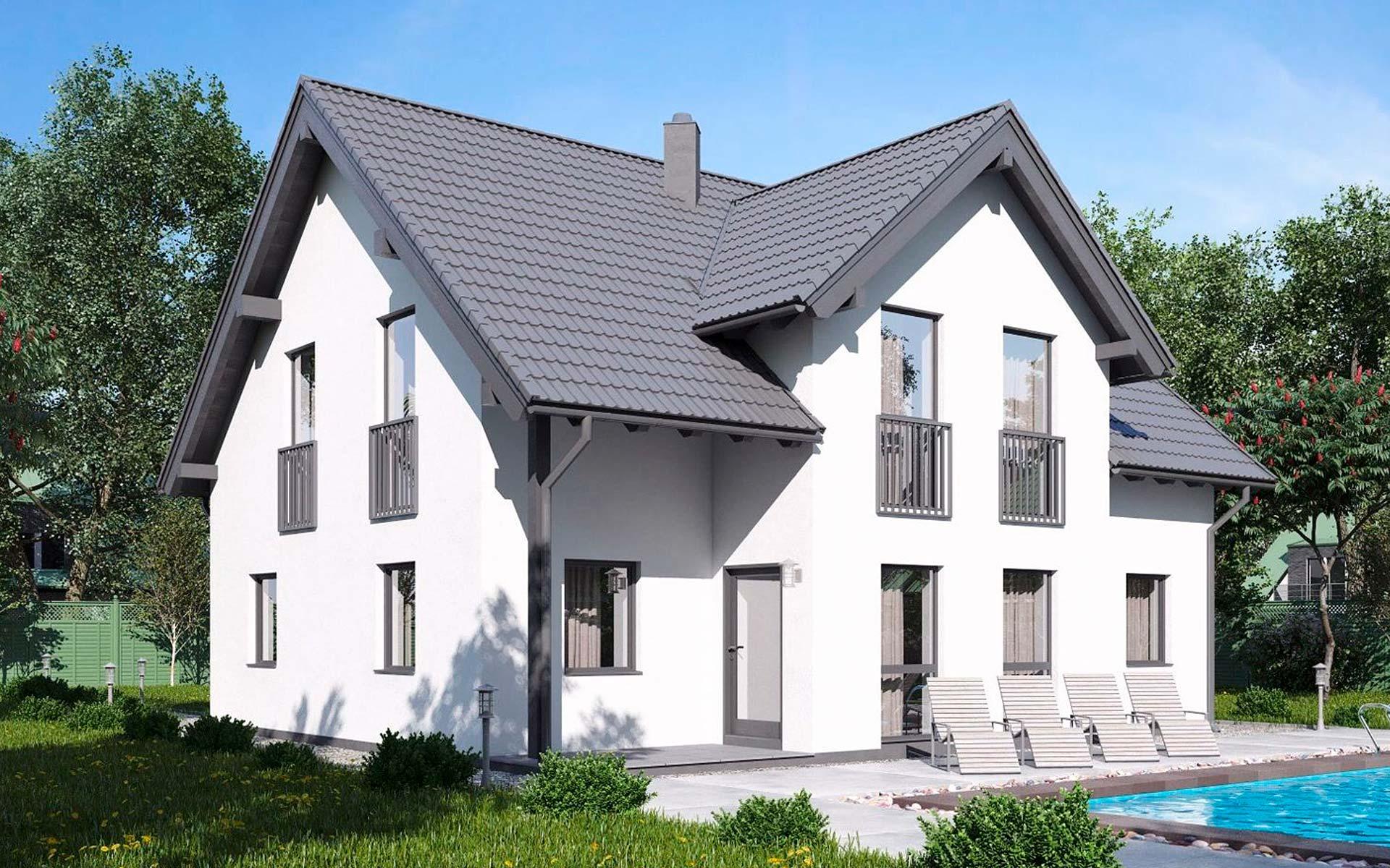 Einfamilienhaus BS 142 von B&S Selbstbausysteme GmbH & Co. KG