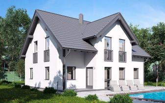 B&S Selbstbau - Musterhaus Einfamilienhaus BS 142