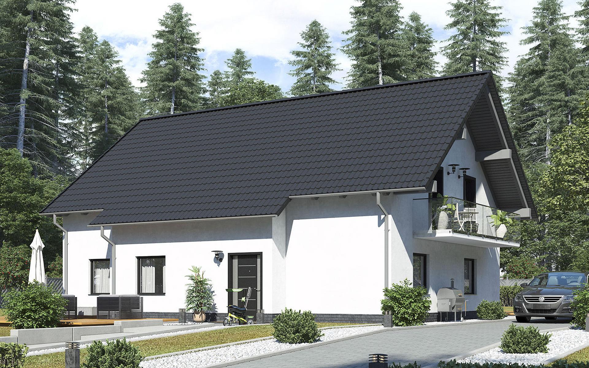 Zweifamilienhaus BS 181 - B&S Selbstbausysteme GmbH & Co. KG