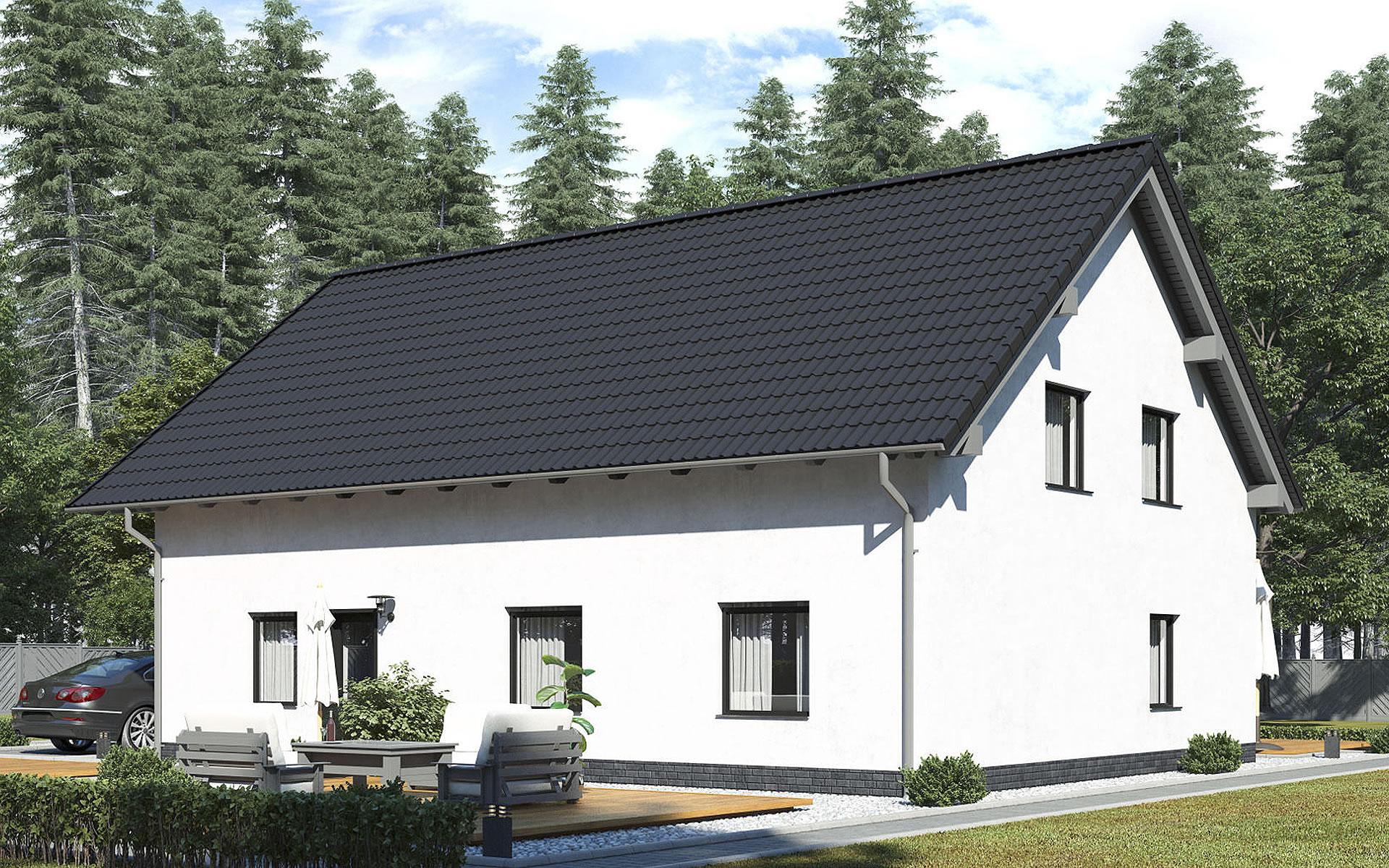 Zweifamilienhaus BS 181 von B&S Selbstbausysteme GmbH & Co. KG