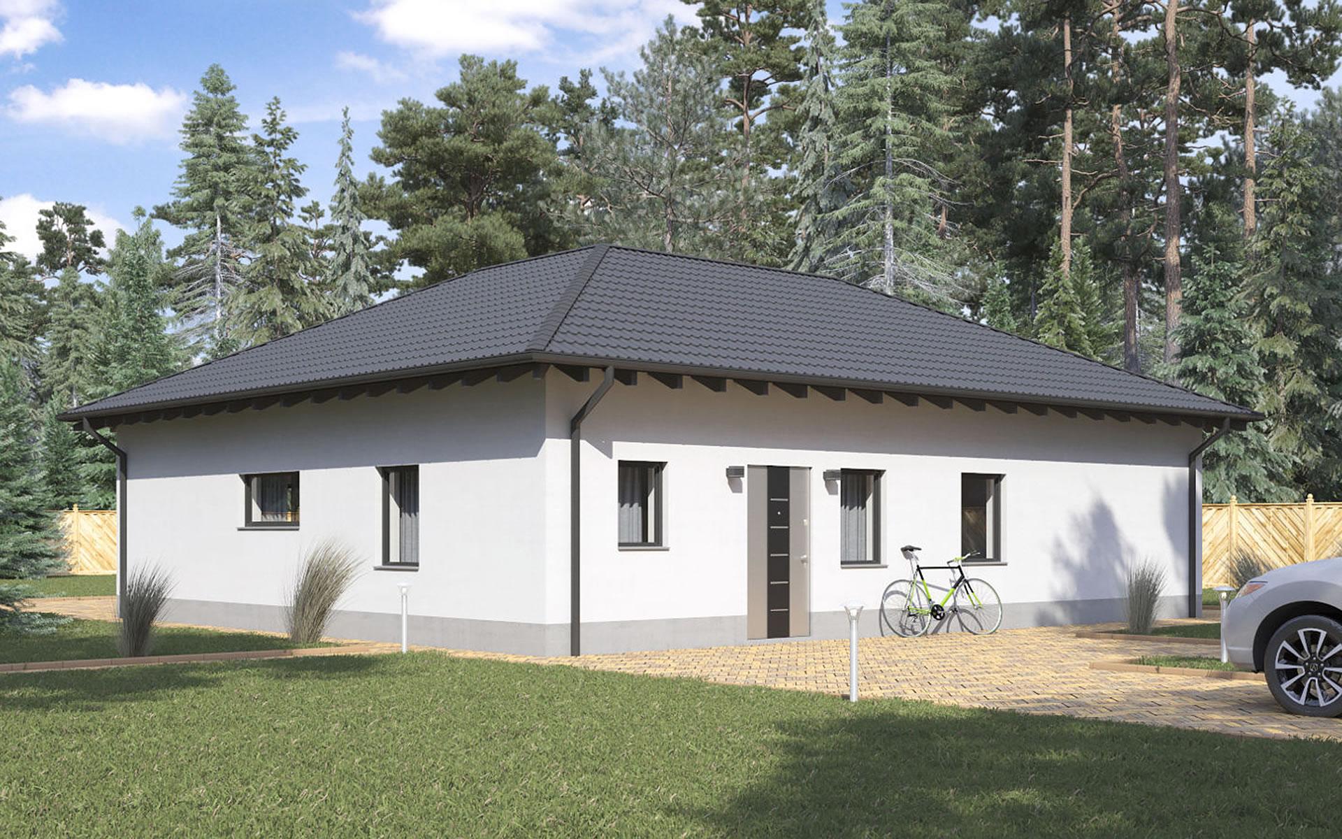 Bungalow BS 100 von B&S Selbstbausysteme GmbH & Co. KG
