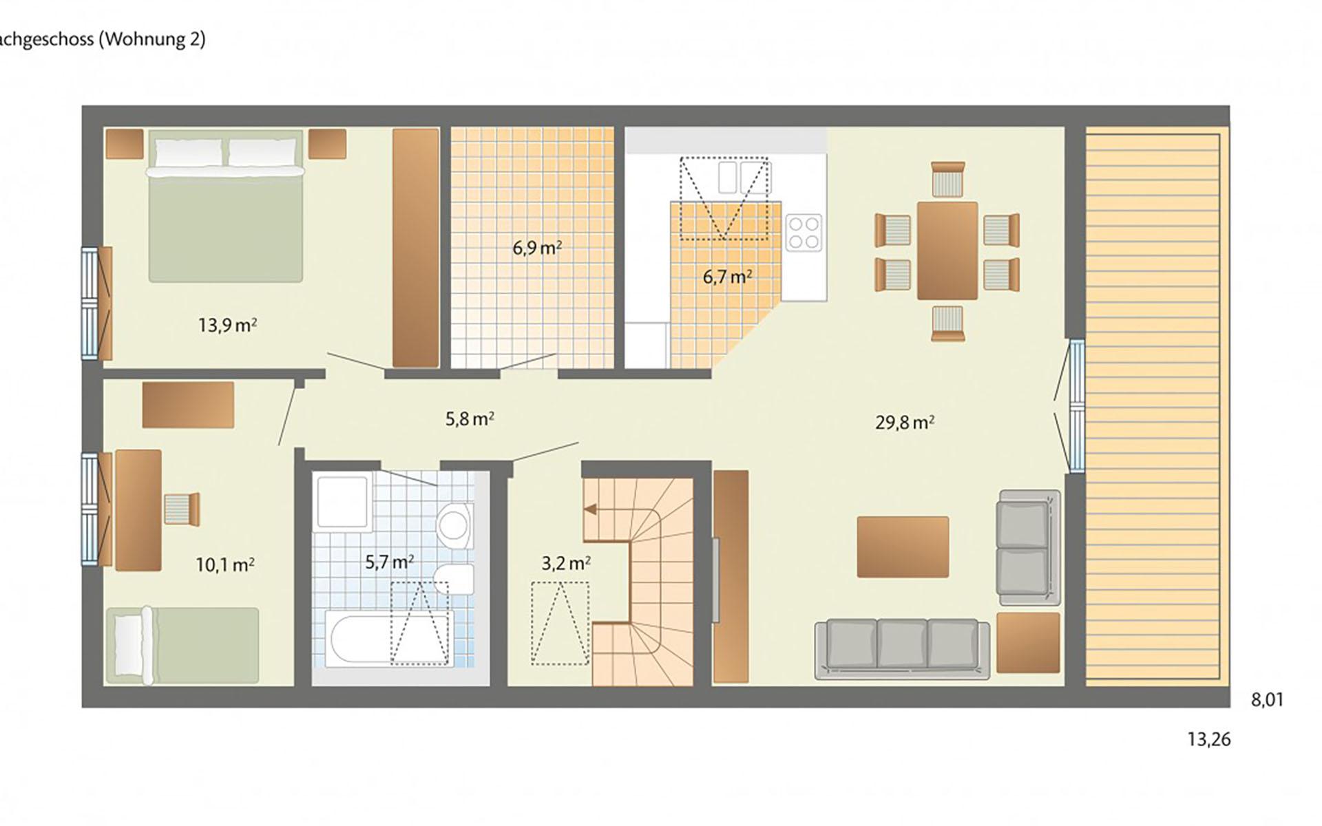 Dachgeschoss Helsinki von Danhaus GmbH