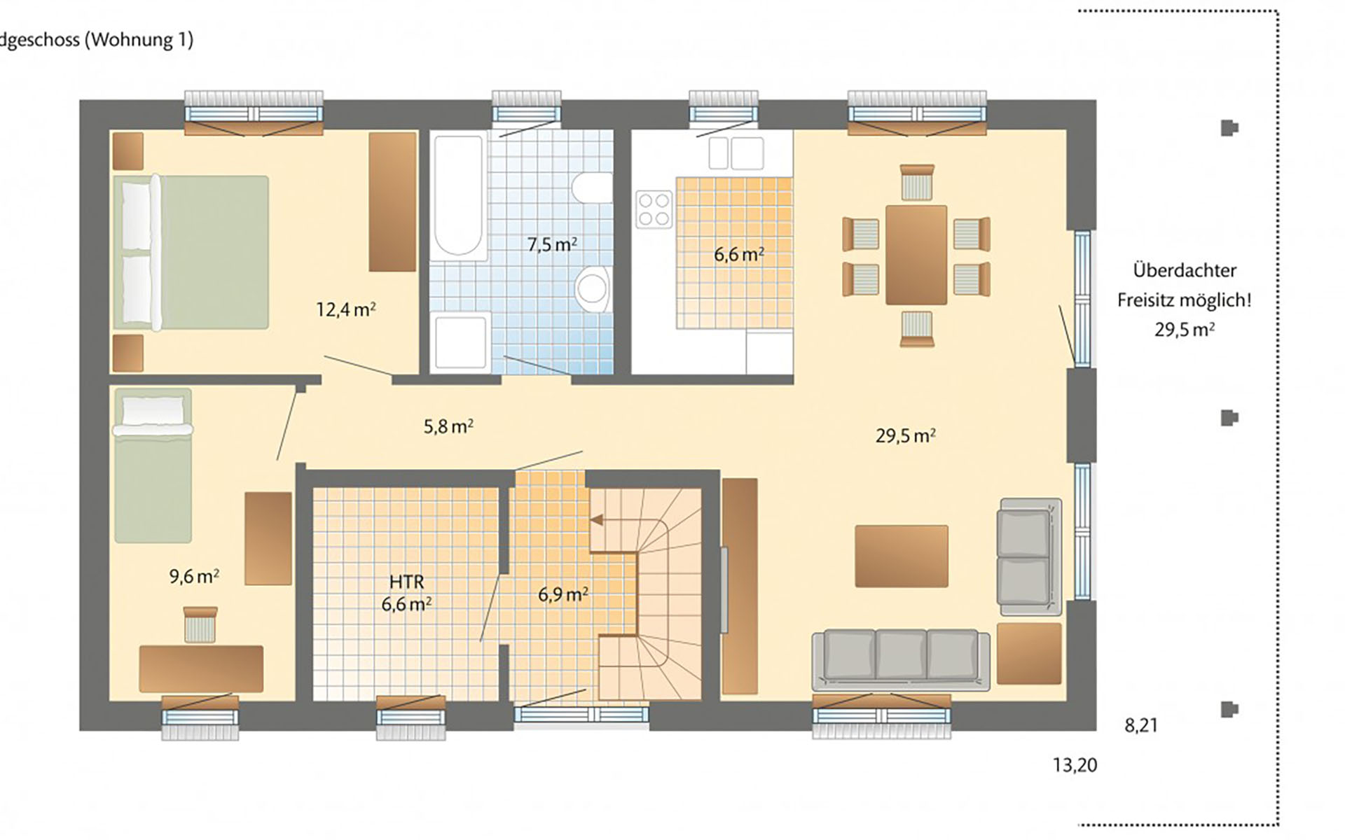 Erdgeschoss Helsinki von Danhaus GmbH