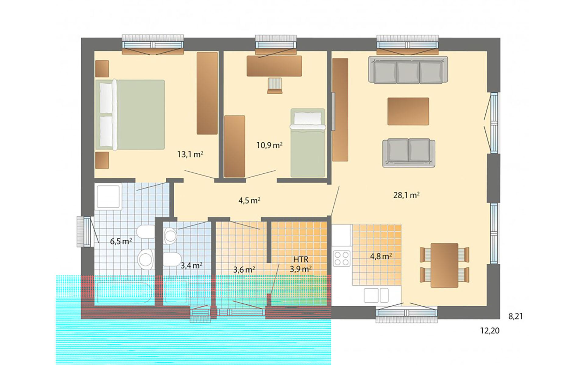 Erdgeschoss Alsen von Danhaus GmbH