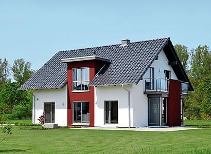 Mit dem Gütesiegel-Effizienzhaus 55 der dena ausgezeichnet ? das Musterhaus AVEO in Frankenberg/Eder von FingerHaus.