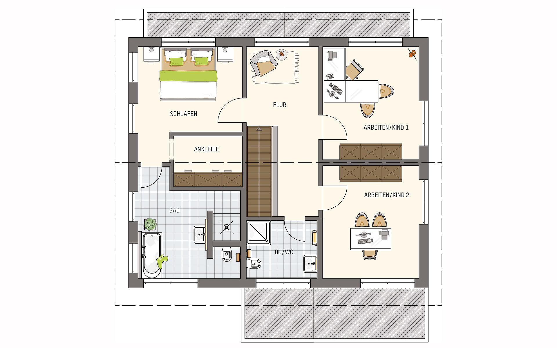 Dachgeschoss MEDLEY 3.0 - MH Fellbach von FingerHaus GmbH
