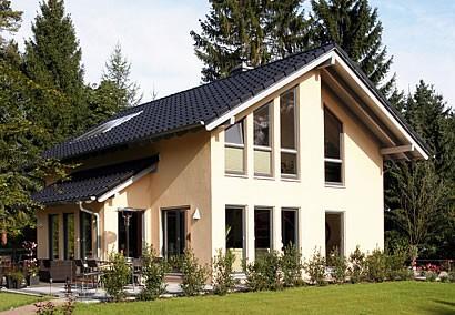 fertighaus fertigh user fino 400 mit 174 26 qm und satteldach als holzrahmenbau von. Black Bedroom Furniture Sets. Home Design Ideas