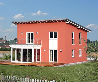 fertighaus fertigh user medley 210 b mh korbach mit 146 36 qm und pultdach als holzrahmenbau. Black Bedroom Furniture Sets. Home Design Ideas