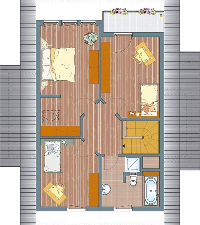fertighaus fertigh user fino 320 b mh poing 137 34 qm. Black Bedroom Furniture Sets. Home Design Ideas