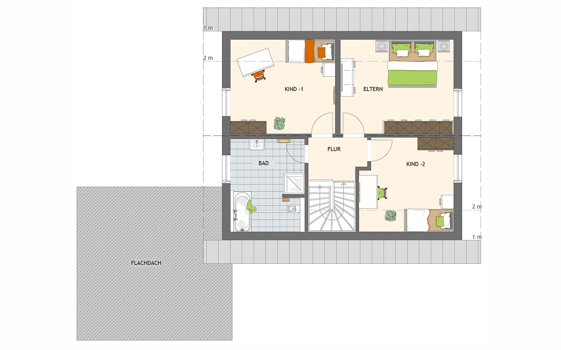 Dachgeschoss MAXIM 7 von FingerHaus GmbH